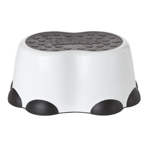 Bumbo Step Stool, Black White